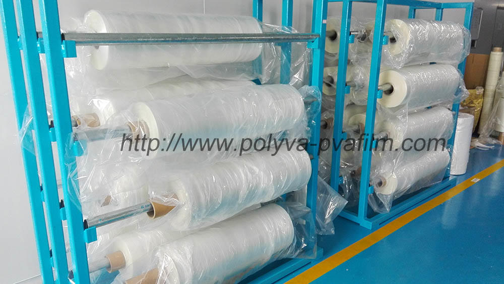 2018 new pva polyvinyl alcohol film for laundry detergent pods packaging machine