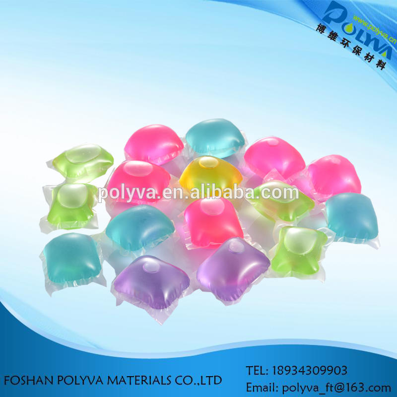 POLYVA Film OEM Baby Laundry Liquid Detergent Capsules Laundry Soap Pods with water soluble film pva cold film