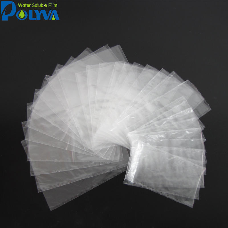 POLYVA eco-friendly agricultural water soluble package PVA Water Soluble Film for Liquid Pesticide Packaging Bag