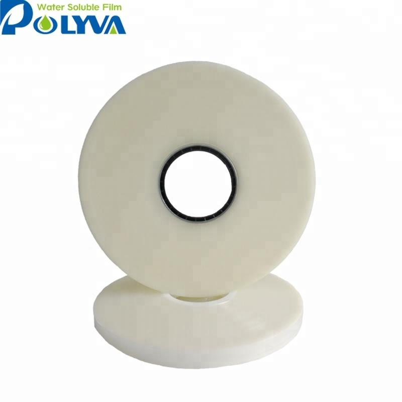 Polyvinyl alcohol dissolvable plasticfilm water soluble seed tape