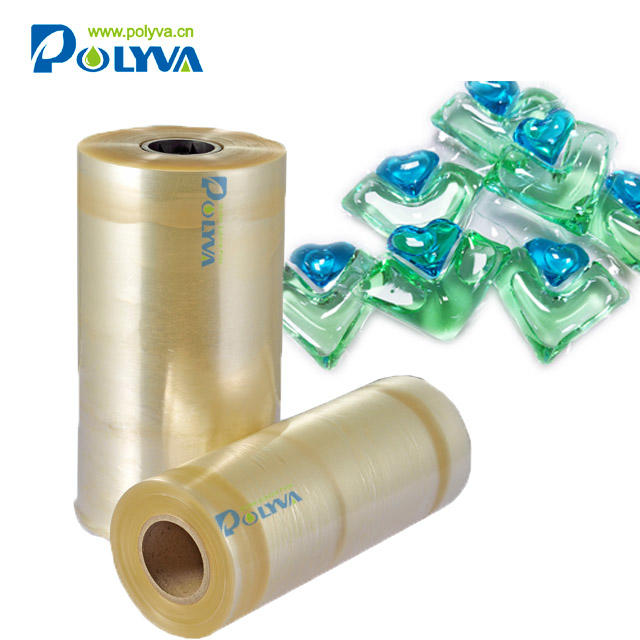 Polyva no residual PVA water soluble film for packaging laundry beads
