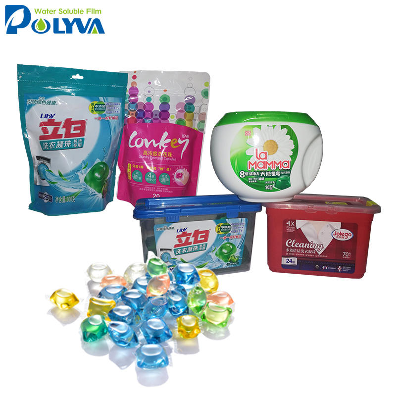 Customize pva water soluble film,cold water sluble pva film for Pesticide package