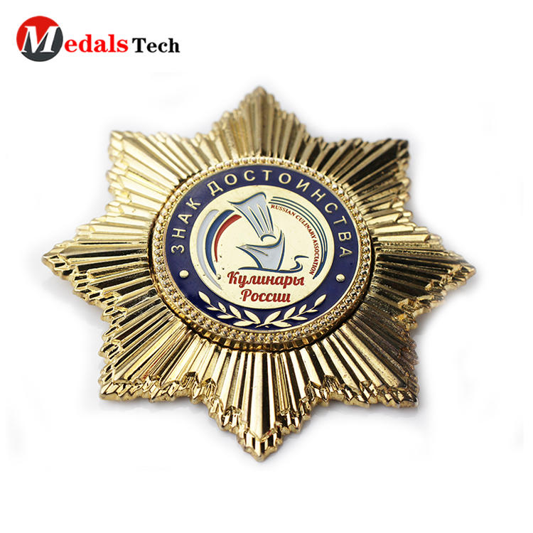 Factory price gold plating military metal bulk lapel pins