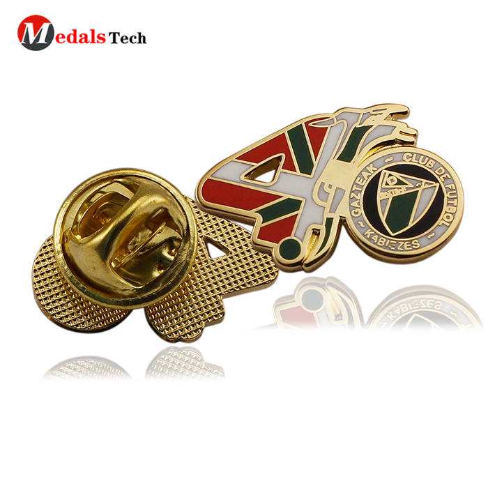 Cheap custom promotional metal gift collar souvenirbadge