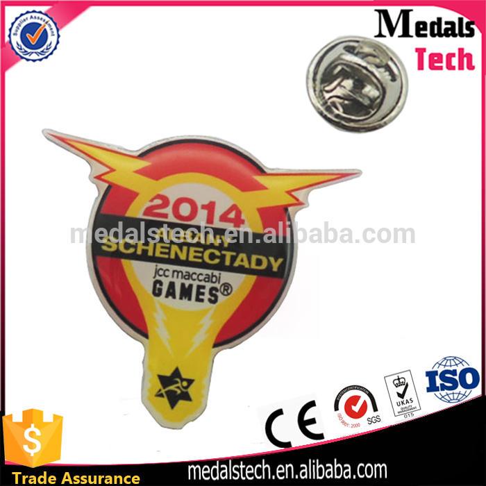 Fancy commemorative price car shape gold plated free sample metal lapel pin badges