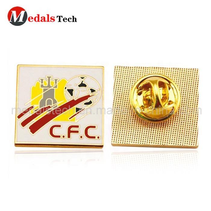 Dongguan factory wholesale small order custom 3d logo hard enamel gift metallapel pins badge