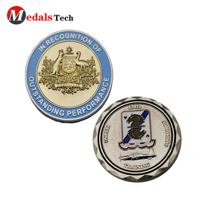 Wholesale custom unique metal personal design metal guard army honor lapel pins