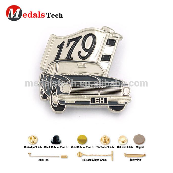 Free artwork design custom quality cool soft enamel car brooch metal lapel pins
