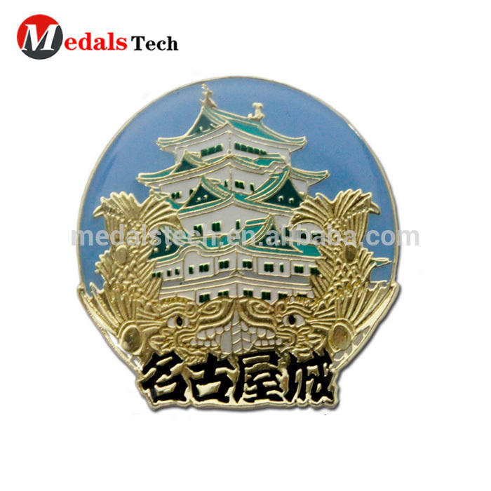MedalsTech Wholesale high quality round soft enamel metal cheap custom lapel pins