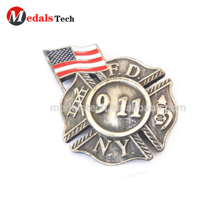 2020 New style manufacturers custom USA country flags metal lapel pin