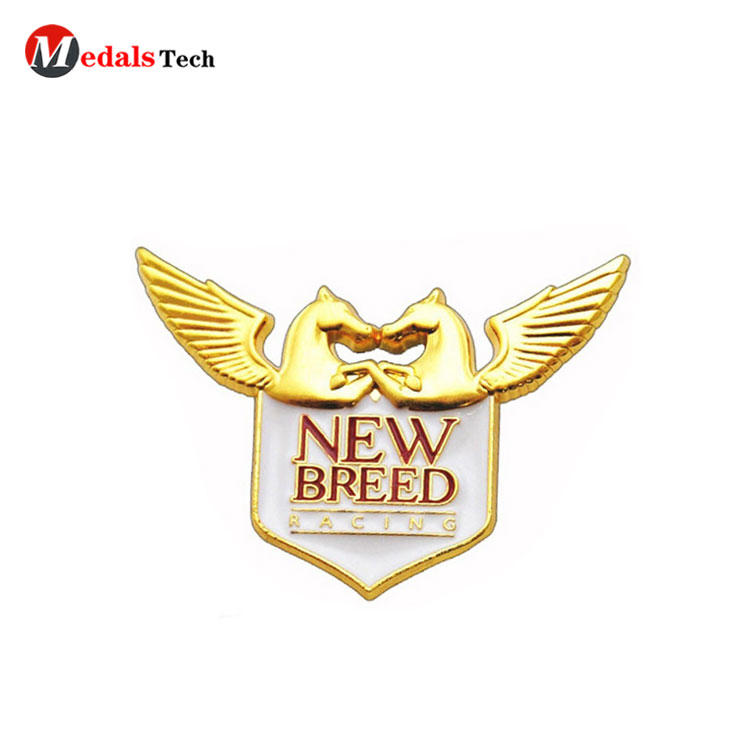 Wholesale promotional zinc alloy star shape lapel pin/Custom various badge