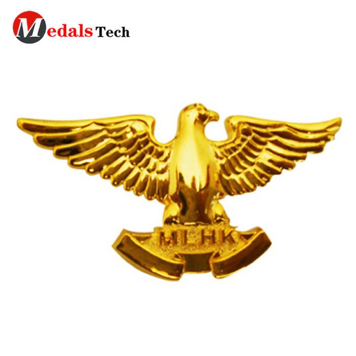 High quality soft enamel gift souvenir metal pin bulk badge