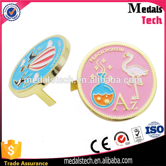 Zebra metal emblem antique plated metal soft enamel lapel pin