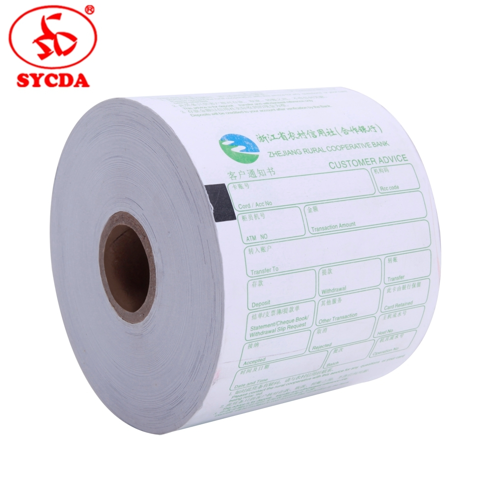 Clear Printing Image Thermal Paper Roll POS Paper Rolls Wholesale ATM Bank Printer Papers Factory Price