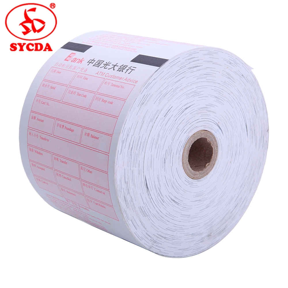 Printing Paper ATM Paper for Bank System