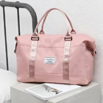 Dry Wet Separated ladies Oxford Portable Pink Travel Duffle bag Fashion Waterproof Outdoor Women Weekend Shoulder Tote bag