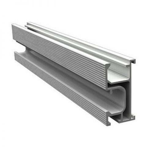 High quality aluminum solar panel mounting rails for solar