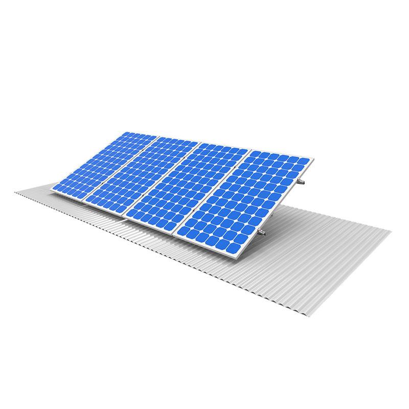 Solar panels with polished aluminum profiles