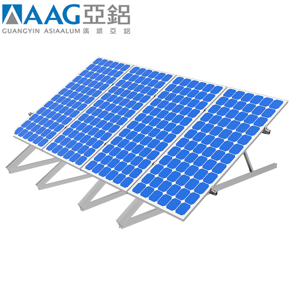Bungaloid roofing solar panel mounting structure