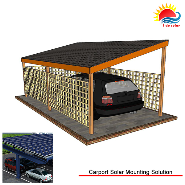 Eco Friendly Grid Tied Industrial Solar Carport Manufacturers easy