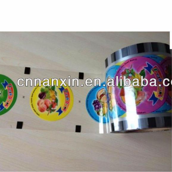 plastic bubble milk tea cup lid sealing film