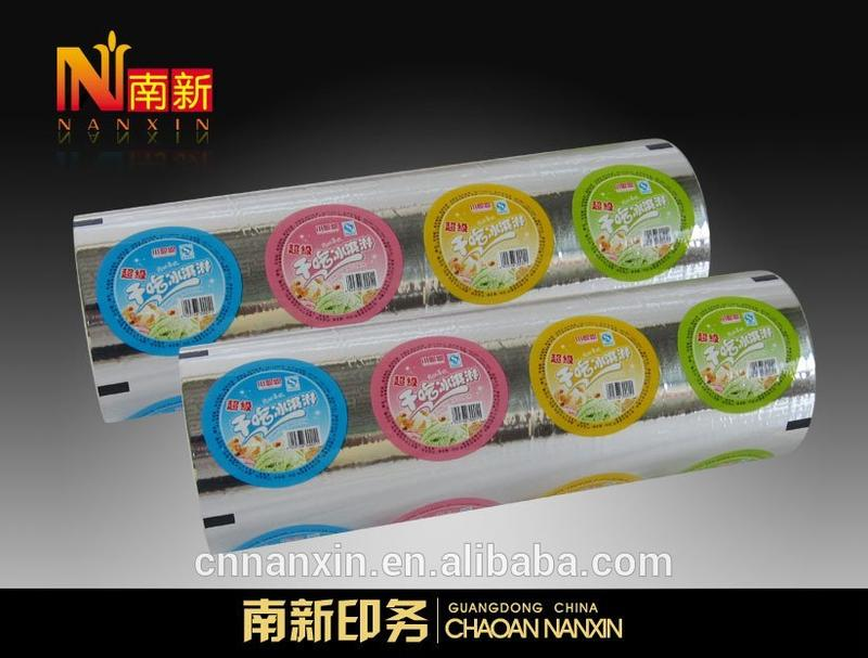 bubble tea cup sealing film for PP/ PE bubble tea cup