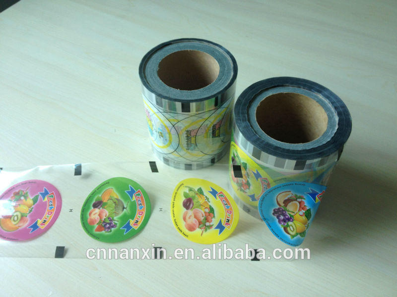 plastic cup sealing film for bubble tea cup