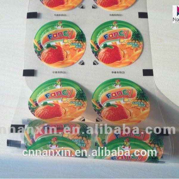juice jelly plastic cup sealing film