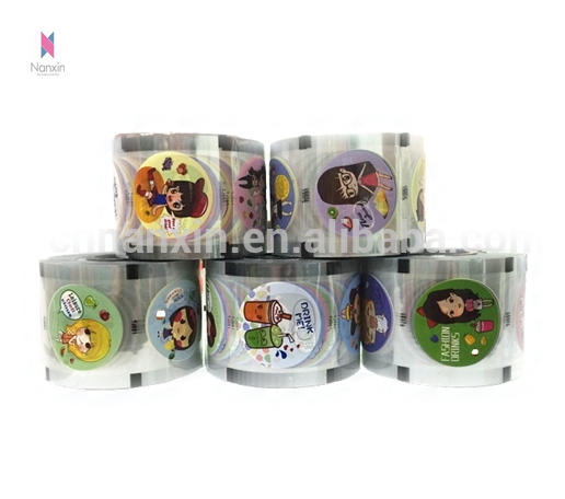 plastic cup sealing roll film for PP cup bubble tea cup