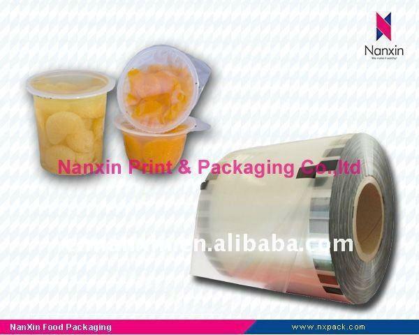 plastic cup sealing film plastic cup lid film