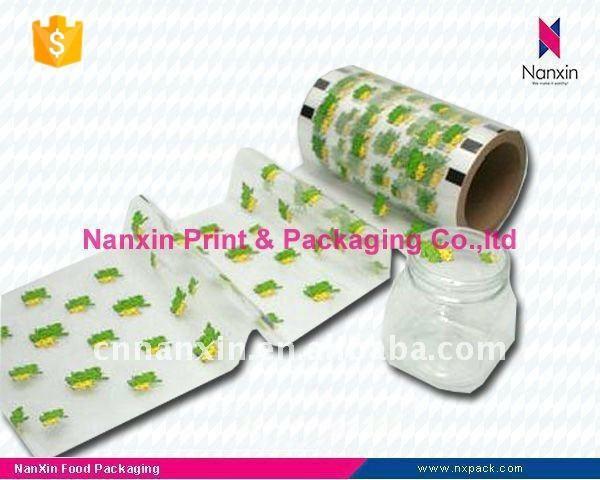 Peelable film for PET/PP plastic cup sealing packaging