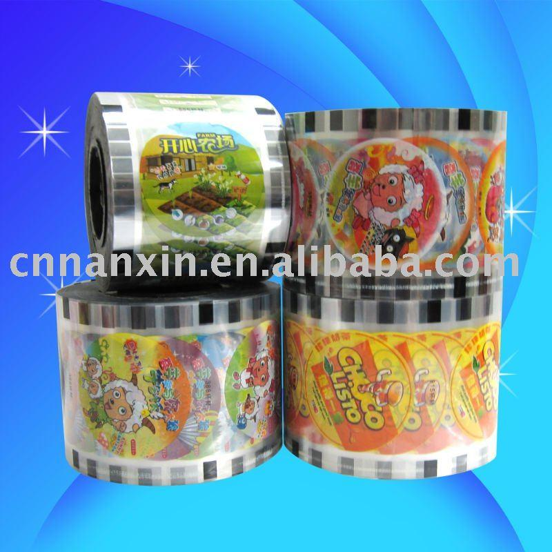 automatic packaging film pp cup sealing film for bubble tea