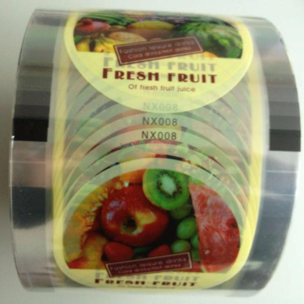 semi auto sealing plastic cup sealing film