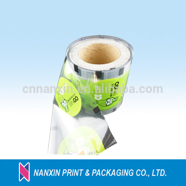 Usefully bubble tea cup seal film for drink pack