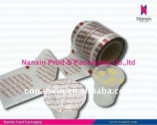 PP/PE paper cup with plastic sealing film