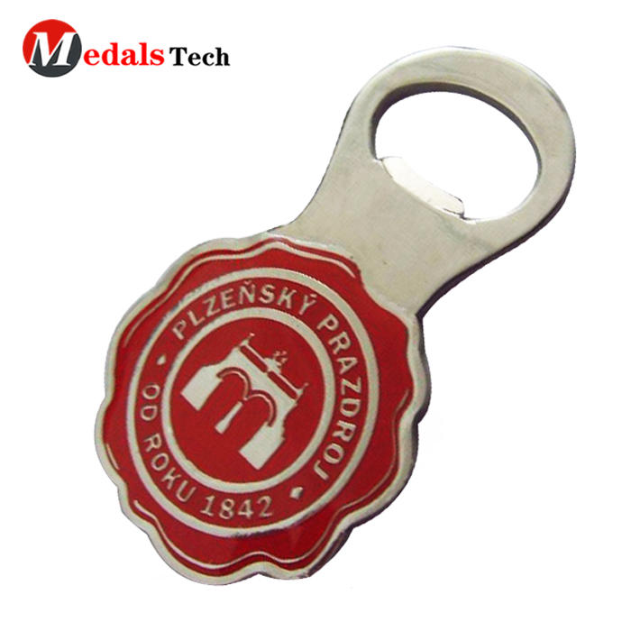 New product custom blank metal sublimation bottle opener