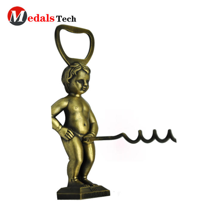 New design corkscrew wine penis metal bottle opener
