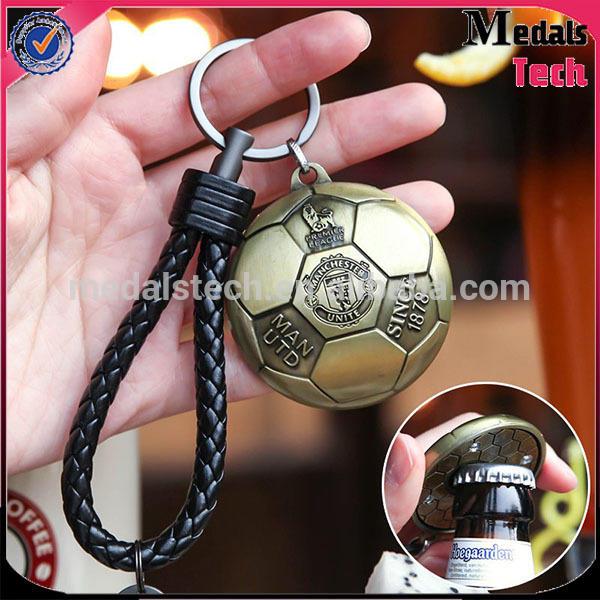 high quality custom soccer shape bottle opener EU Certification souvenir bottle opener