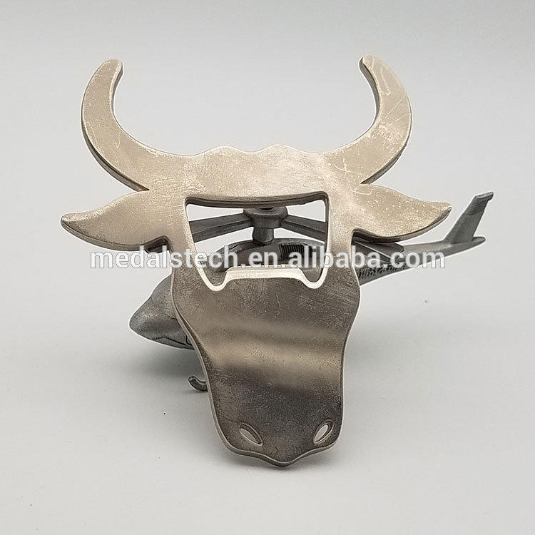 Free Sample In Stock Beer Festival Gift Cow Shape Beer Bottle Opener