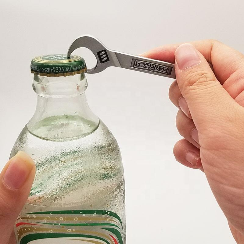 Cool Amazon Popular sale metal multitool mens beer bottle opener keychain custom