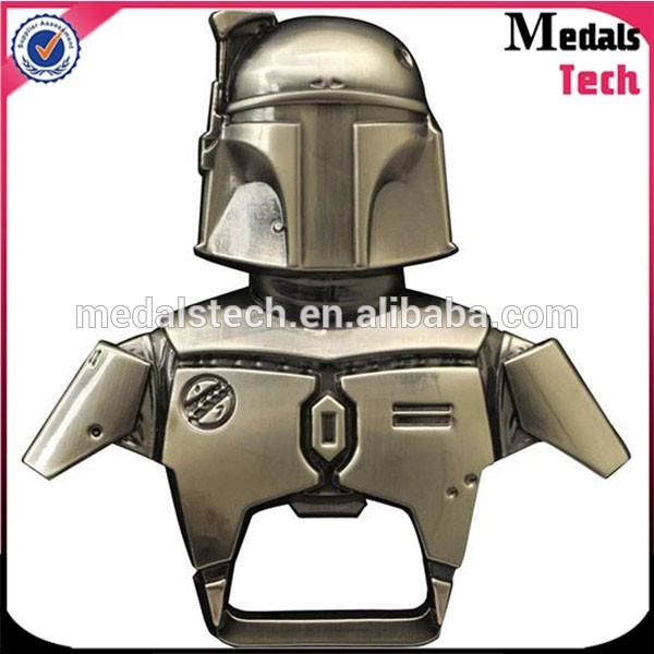 Shenzhen factory Promotional bulk cheap metal army man bottle opener dog tags