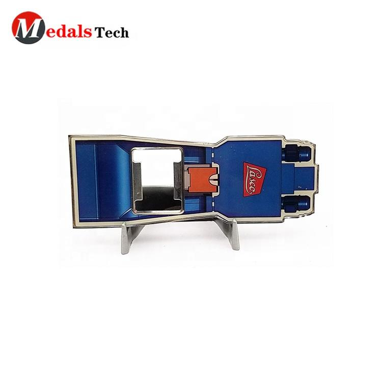 Hot sell silver brushed printing epoxy promotional cheap beer bottle opener with printed your logo