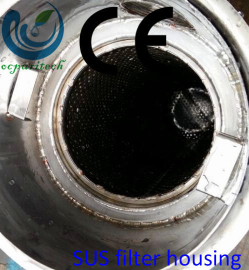 High quality SS304 SS316L bag filter housing/stainless steel filter housing