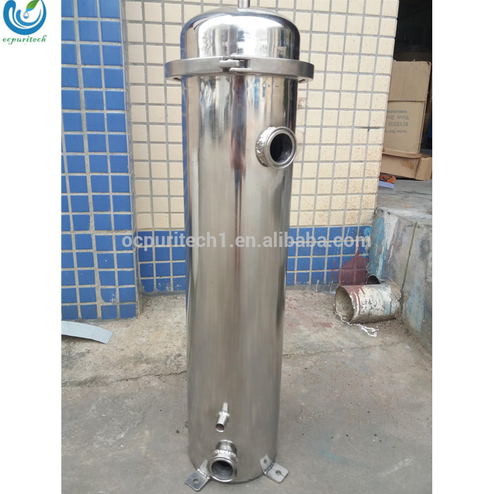 SS cartridge filter housing and bag filter vessel