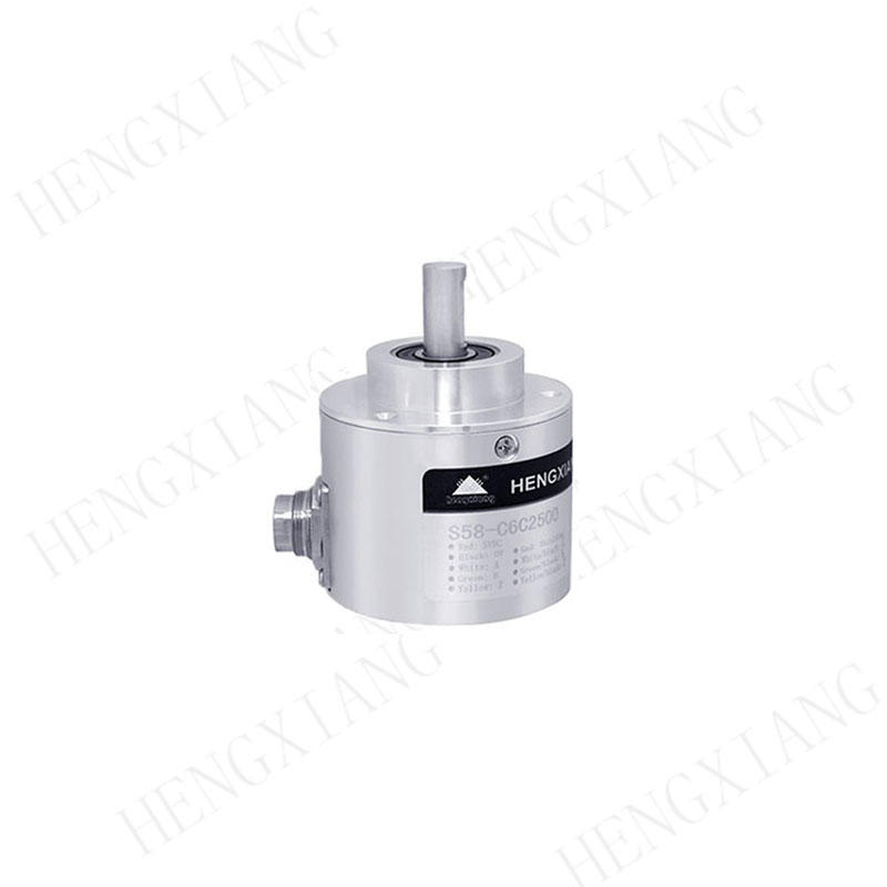 Precision Scale measurement quadrature rotary encoder 5000 pulse 58mm 6mm solid shaft incremental encoder