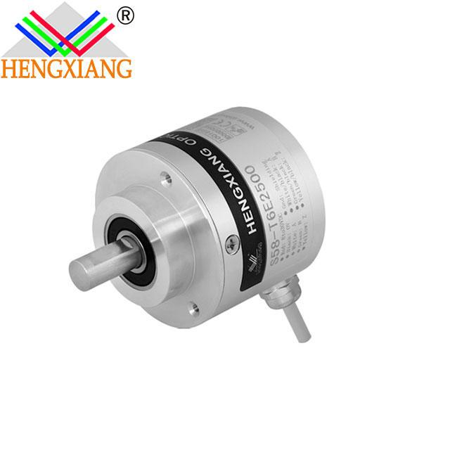 S58 Rotary Position Transducer LF/LFC Solid Shaft encoder 8.5020.2851.1024 758-A-21S1024RHV