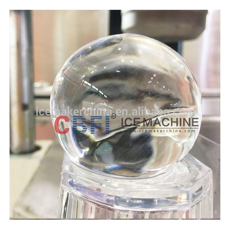 100% Smoothly Surface 55mm, 80mm Hotel Popular Ice Ball Maker Machine