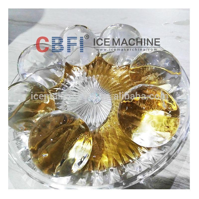 CBFI Transparent Edible Hotel Used Ice Ball Maker