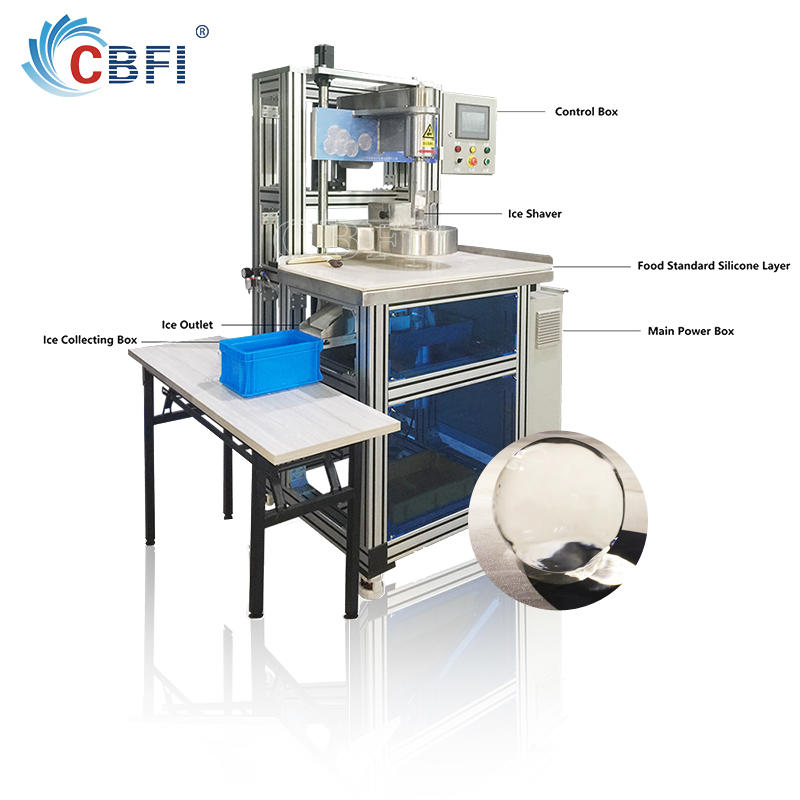 new technology ice ball carving machine