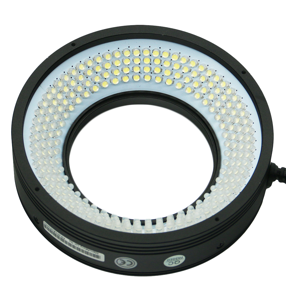 Uniform Illumination Hig/Low Angle Circle LED Lamp Industrial Inspection Machine Vision Ring Lighting